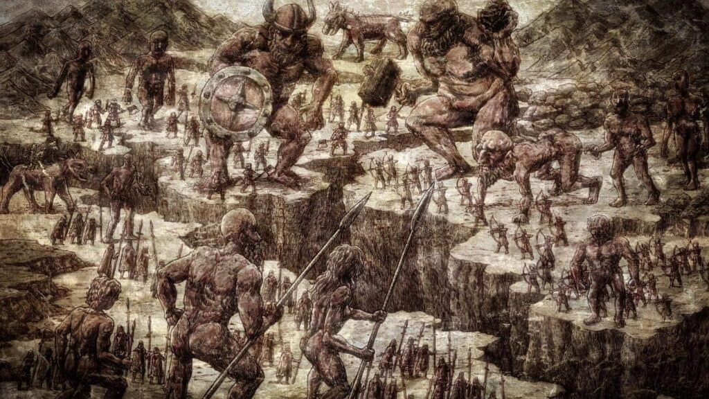 The Great Titans War