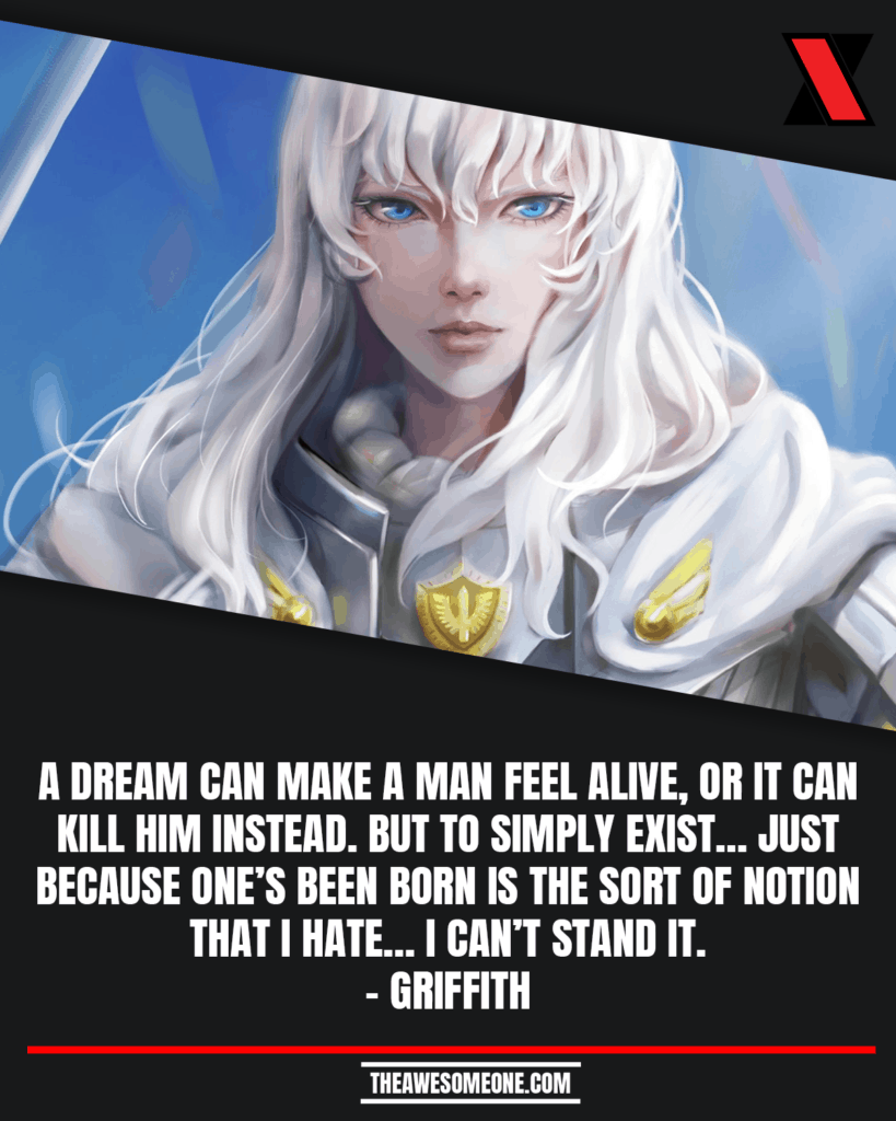 Griffith Berserk Quotes