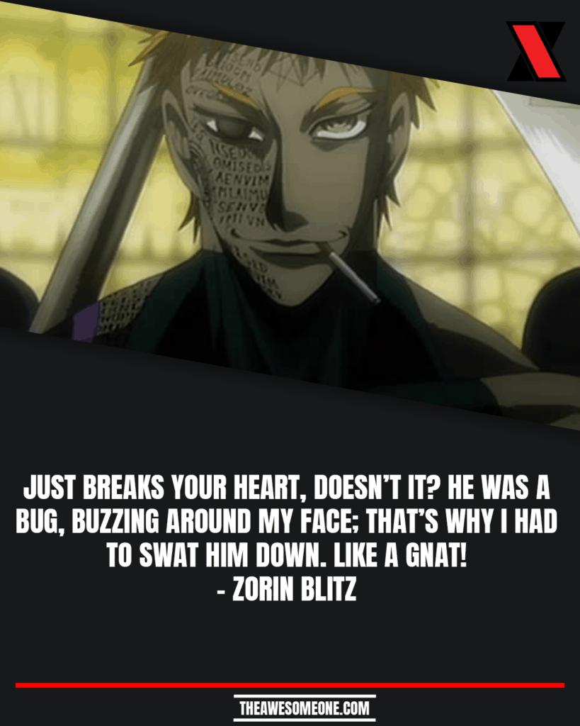 Zorin Blitz Quotes