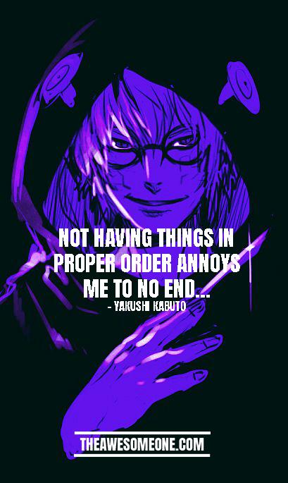 Kabuto Quotes