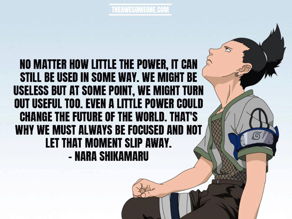 Shikamaru Quotes