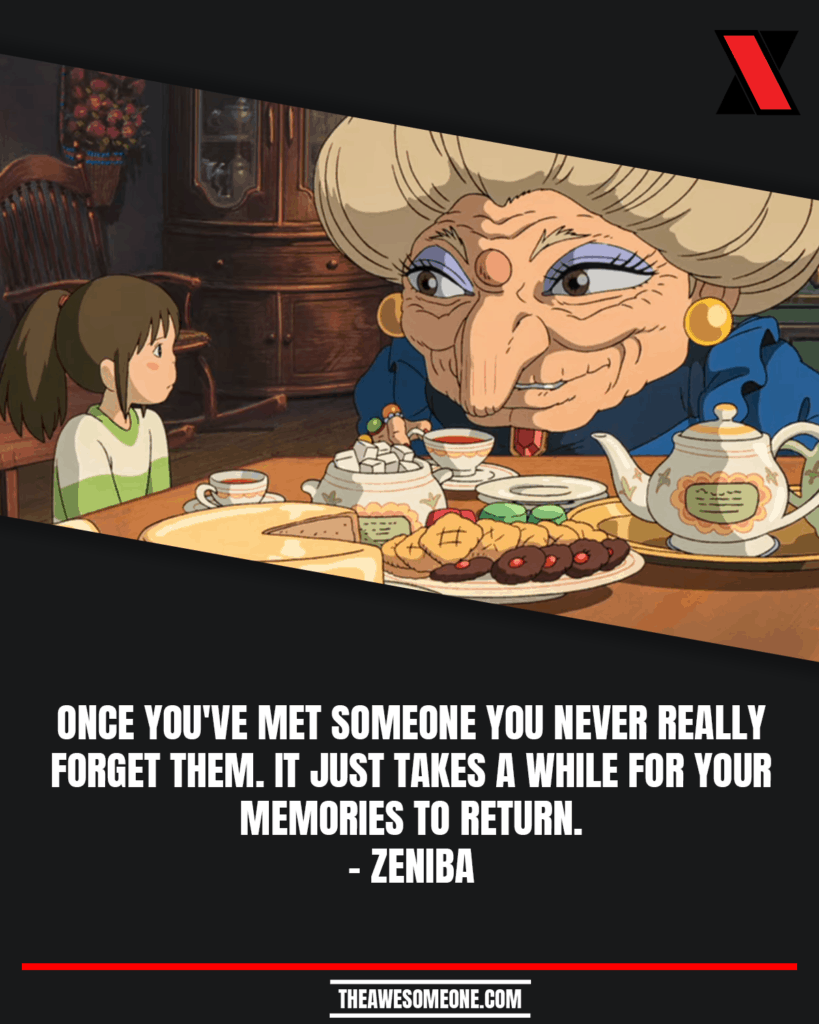 Spirited Away Quotes Zeniba