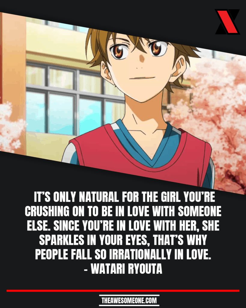 Your Lie In April Quotes Watari Ryouta