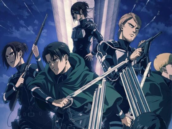 Attack on Titan New Character Designs For The Final Season