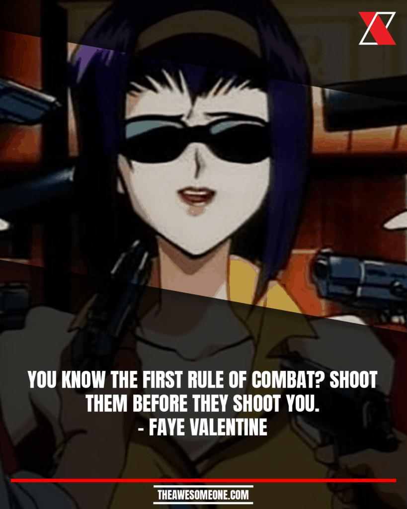 Cowboy Bebop Quotes Faye Valentine