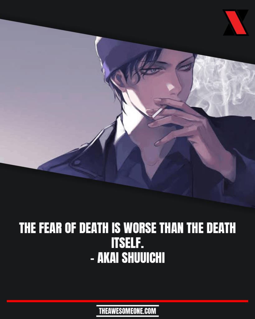 Detective Conan Quotes Akai Shuuichi