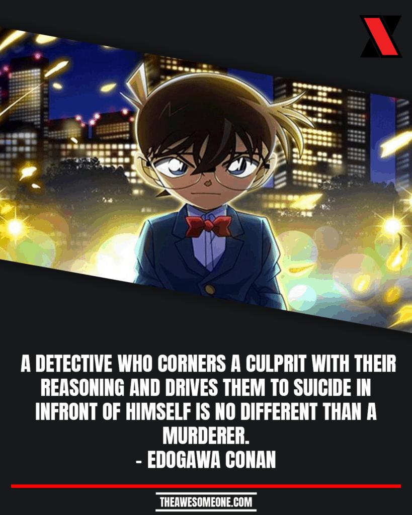 Detective Conan Quotes Edogawa Conan