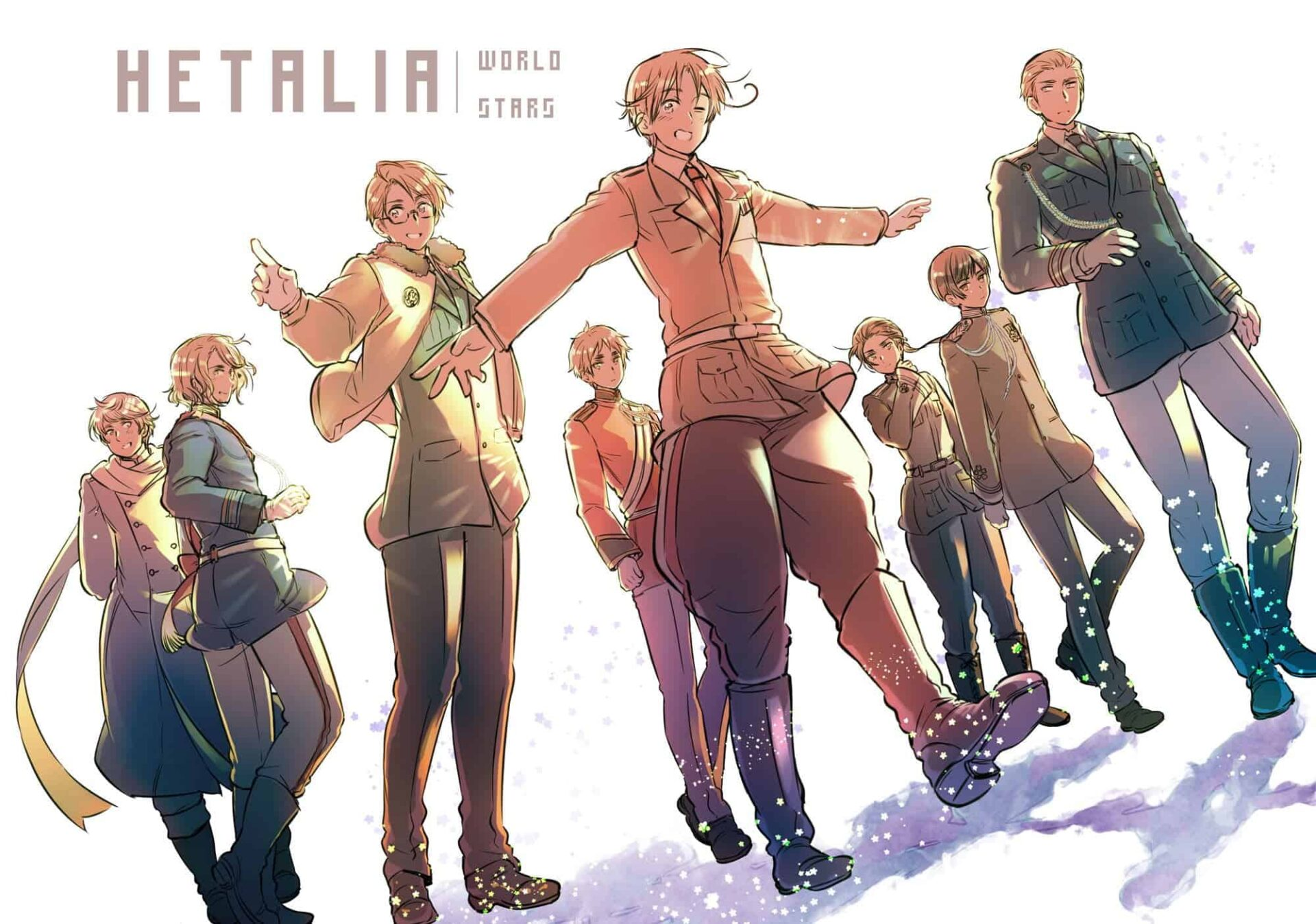 Hetalia: World Stars Anime