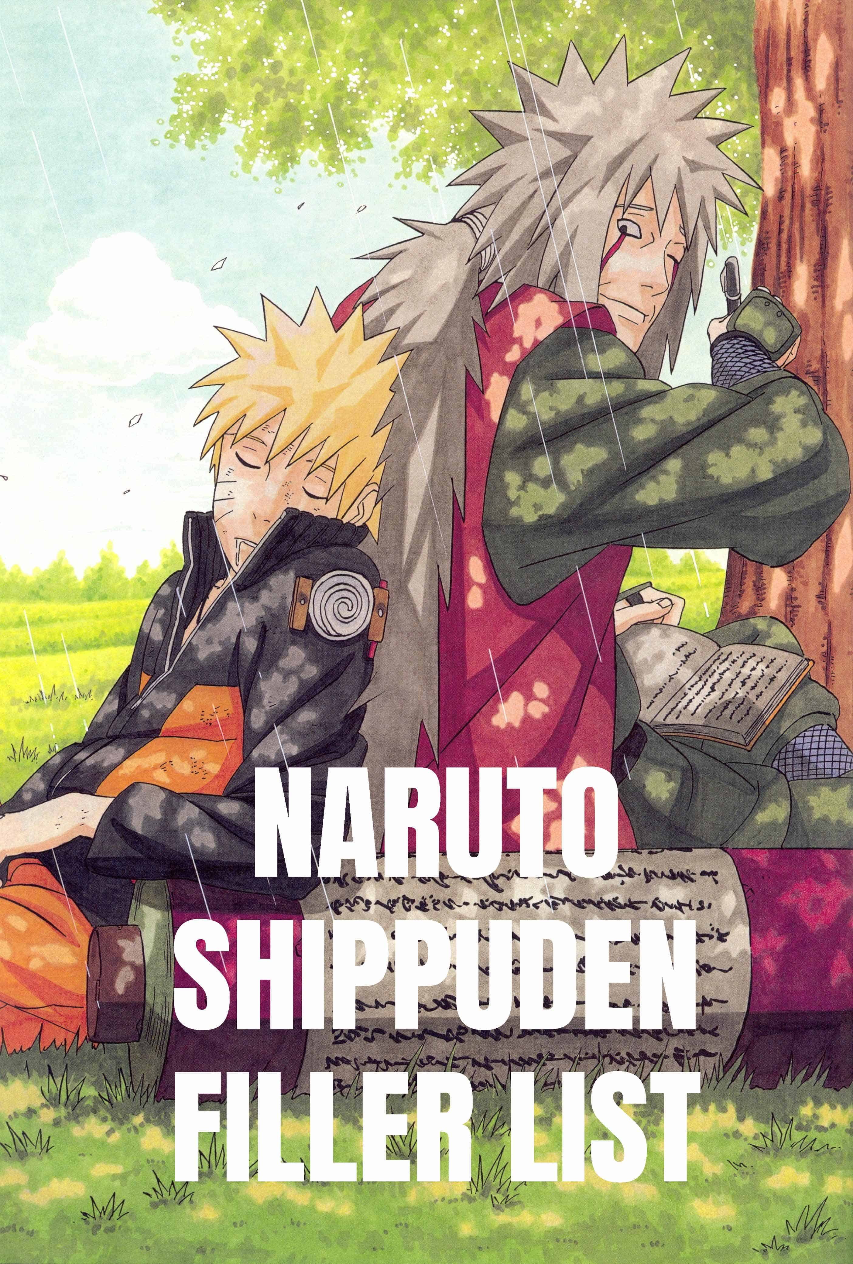 Naruto Shippuden Filler List With Episodes List - Anime ...
