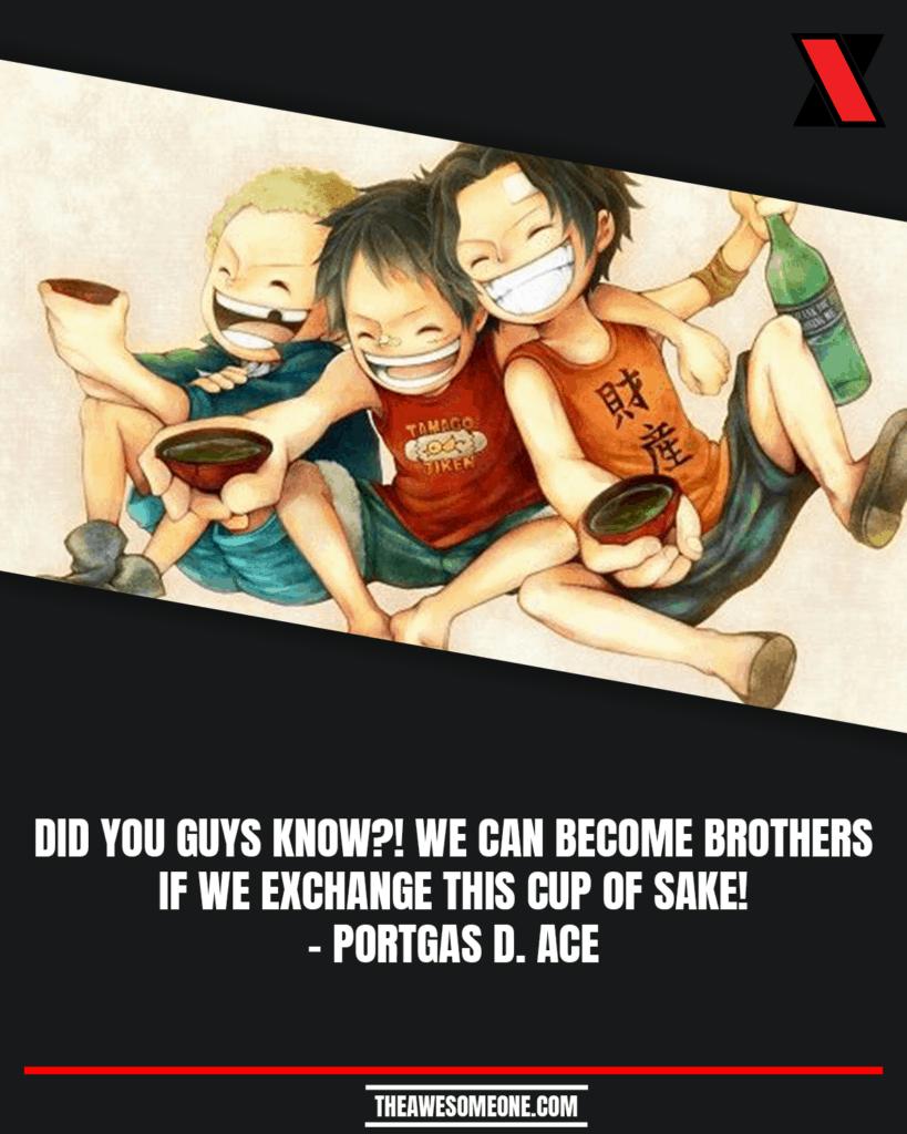 One Piece Quotes Portgas D. Ace
