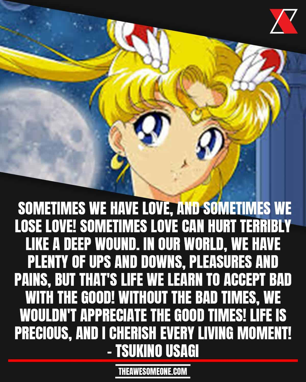 Sailor Moon Quotes Tsukino Usagi