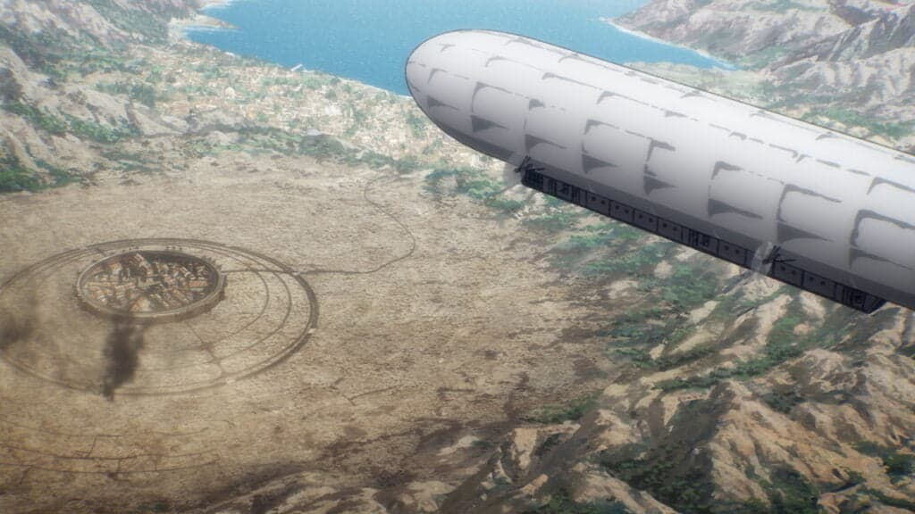 Attack On Titan Season 4 Episode 2 Airship
