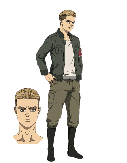 Attack on Titan Final Season Characters Porco