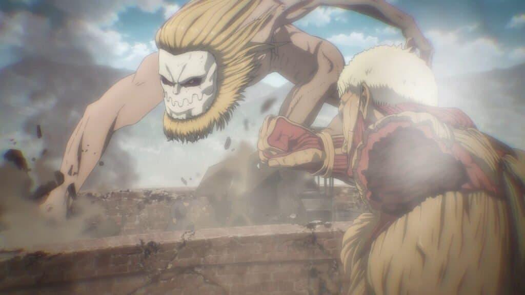 Attack On Titan Season 4 Episode 2 Jaw Titan