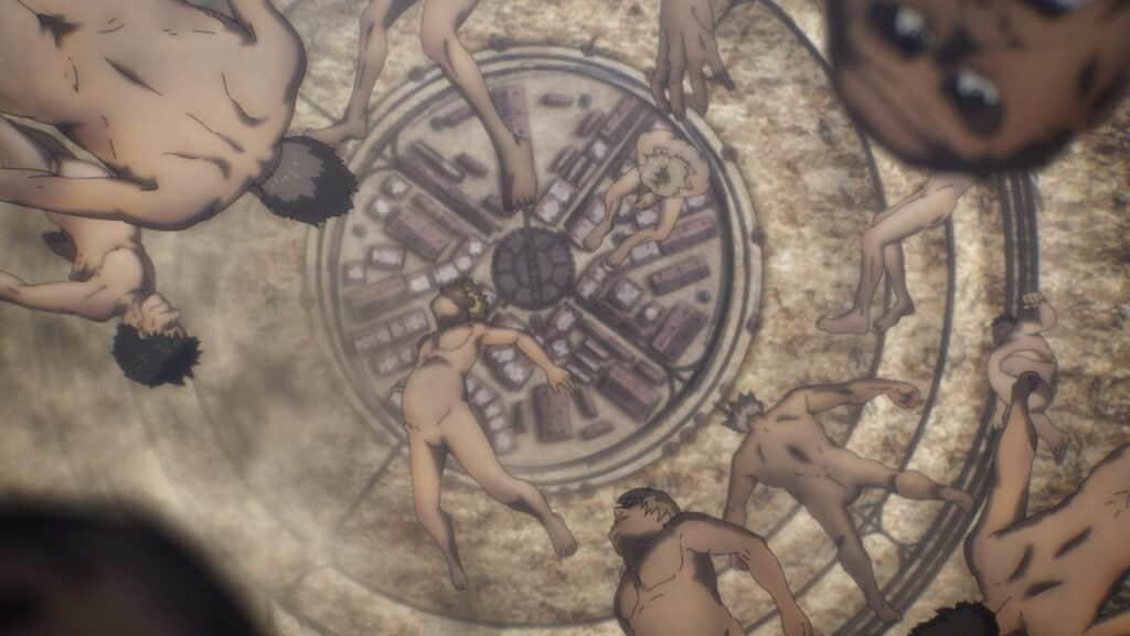 Attack On Titan Season 4 Episode 2 Titan Falling
