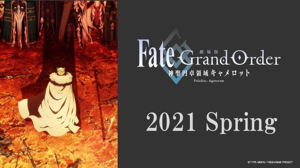 Fate/Grand Order Camelot Visual