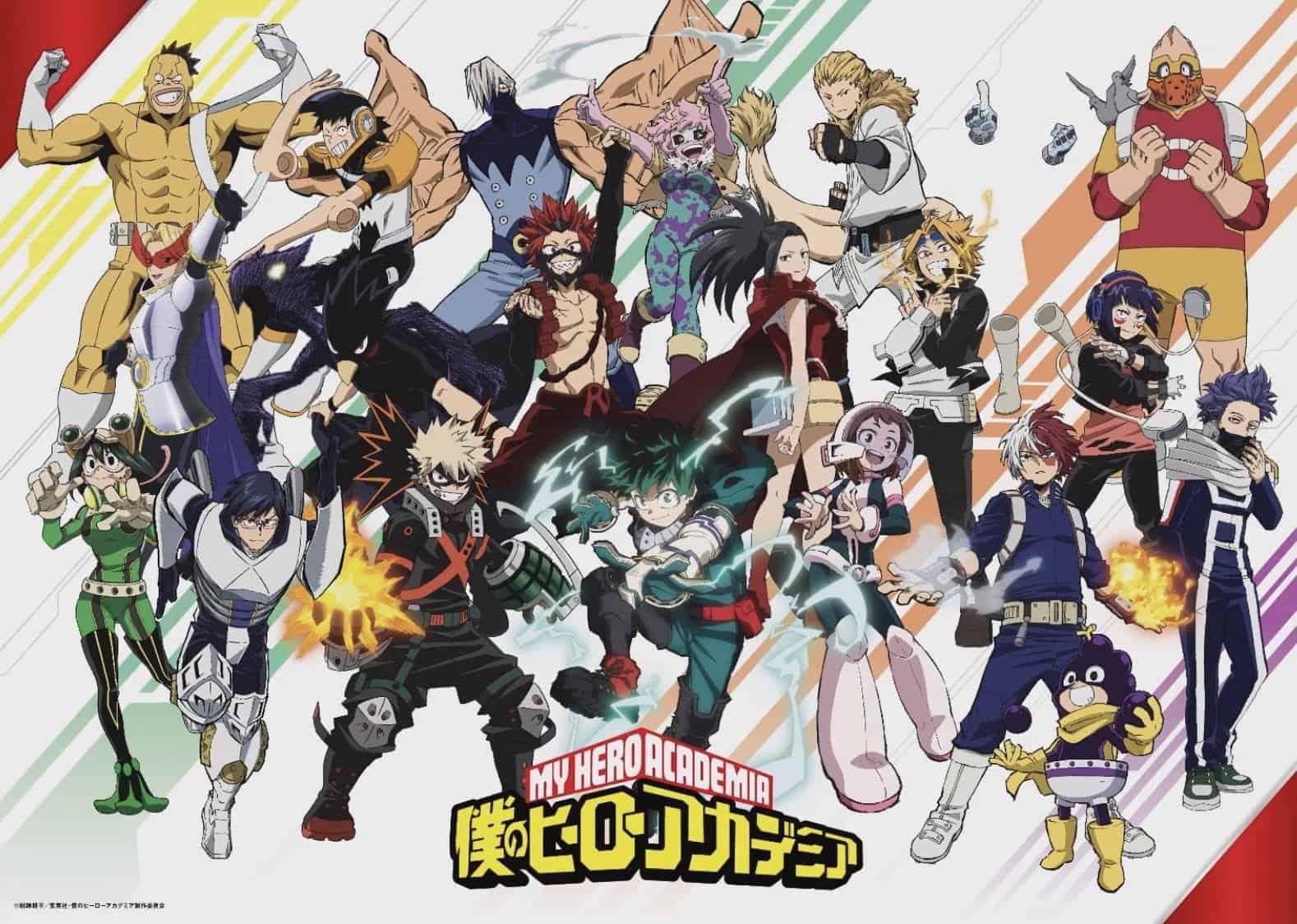 My Hero Academia Season 5 Visual