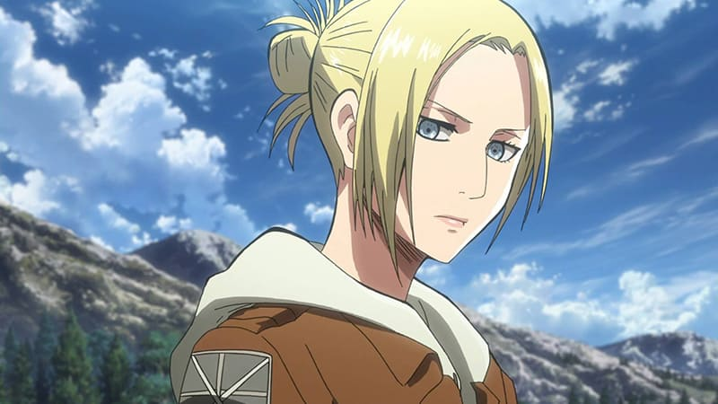 Attack on Titan Fans Favourite Character Annie Leonhart