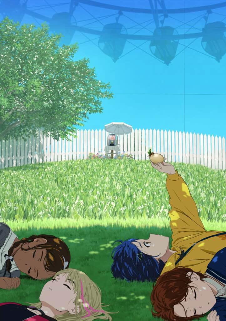 Wonder Egg Priority Anime Visual
