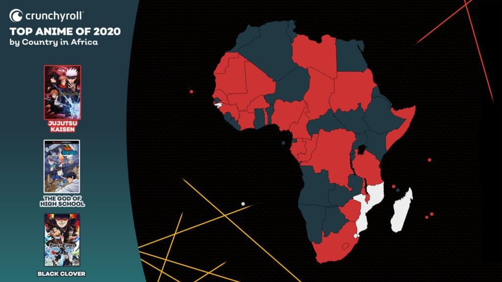 Most Popular Anime 2020 Africa