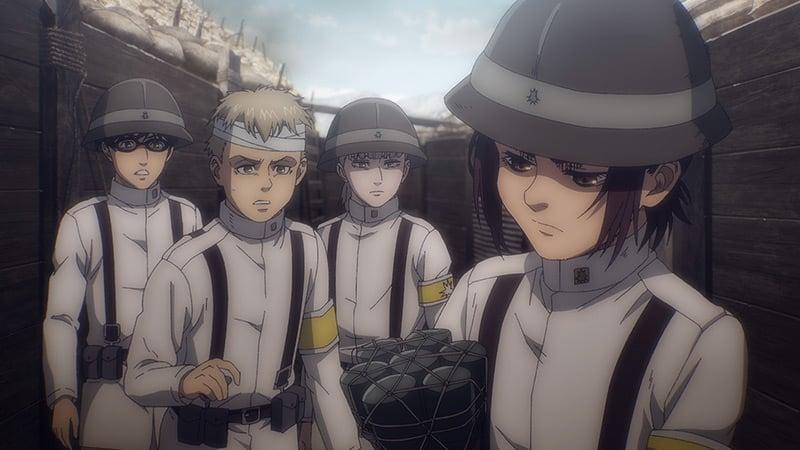 Best New Anime 2020 Attack on Titan: Final Season