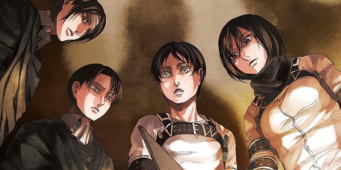 Attack on Titan The Last Manga Chapter