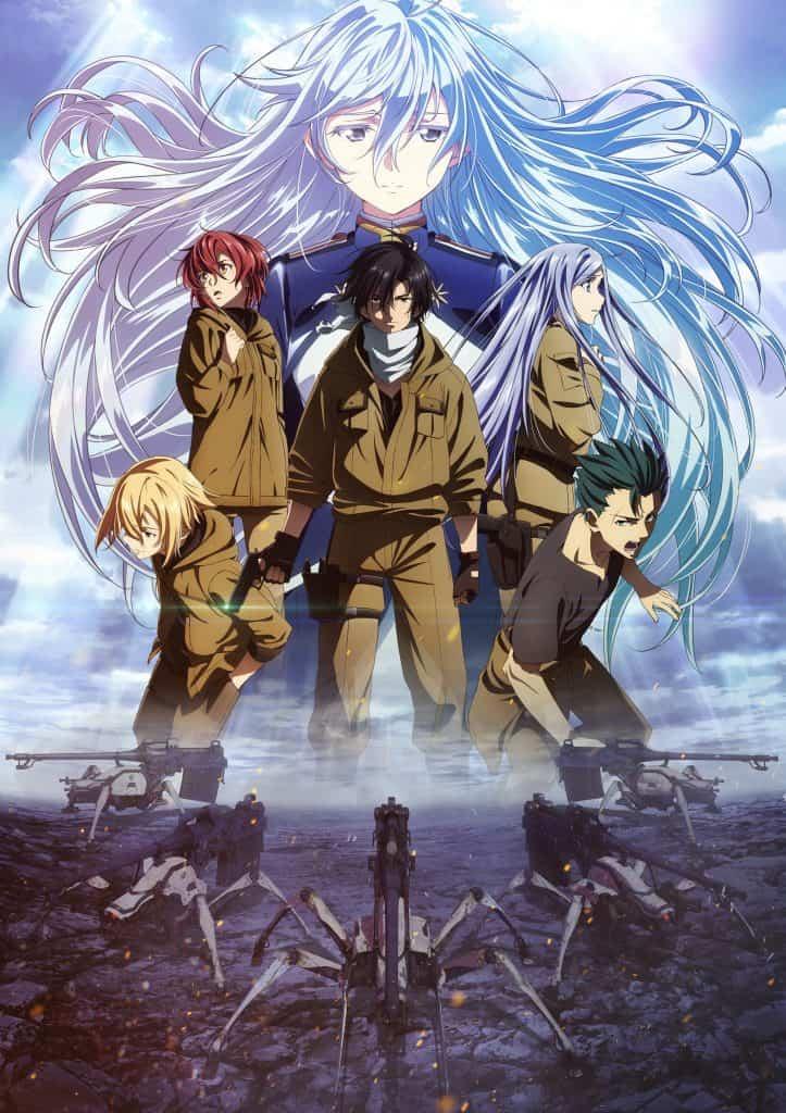 86: Eighty Six Anime Visual