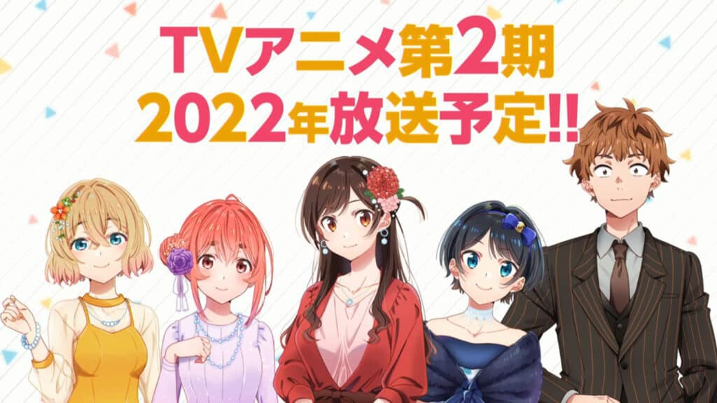 Rent-A-Girlfriend Season 2 Release Date In 2022 + Visual and Trailer