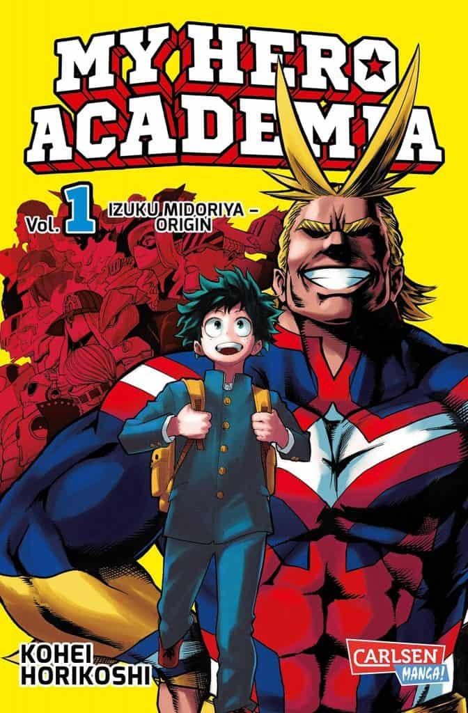 My Hero Academia Manga Visual