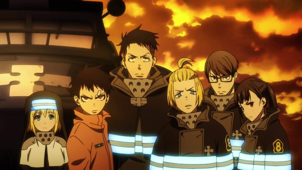 Fire Force main characters