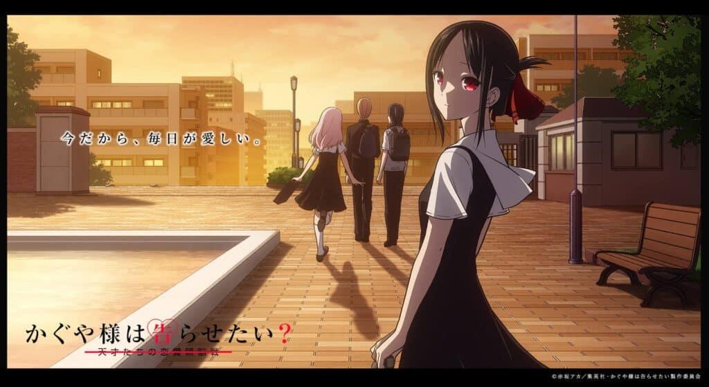 Kaguya-sama Love is War Season 3 Release Date