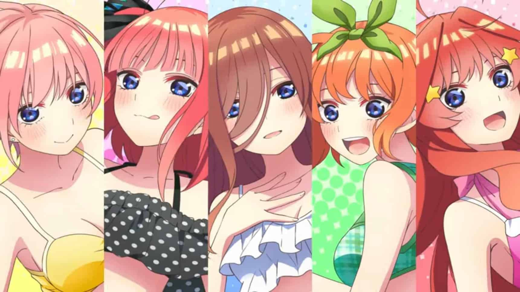 the quintessential quintuplets season/movie release date