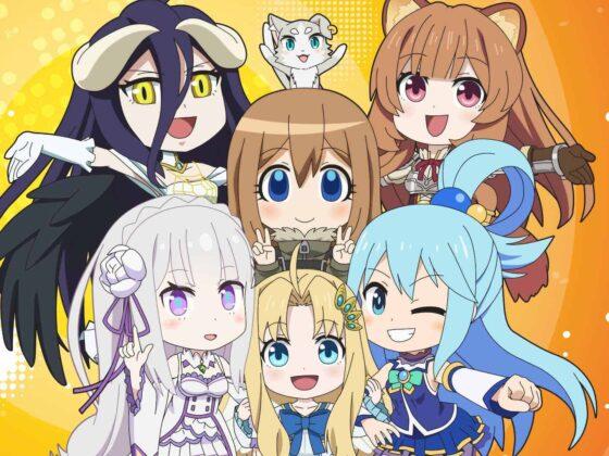 Isekai Quartet Season 3 Release Date + Visual & News